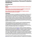 Isolation Precautions_PPE Extended (page 1)