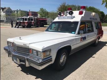 1978 Cadillac ambulance