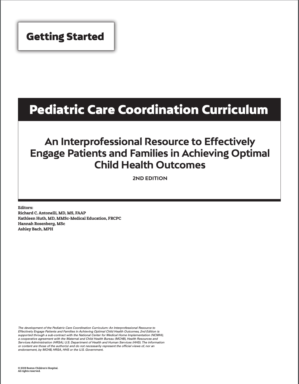 Pediatric Care Coordination 2nd Ed.png