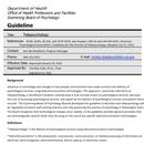 Dept. Of Health: Telepsychology Guidelines