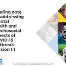 Briefing note on addressing mental health and psychosocial aspects of COVID-19