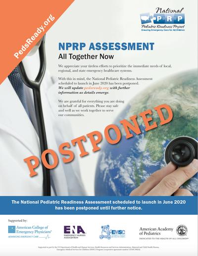 NPRP Postponement Flyer