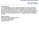 Federal Healthcare Resilience Task Force. Alternate Care Site Toolkit