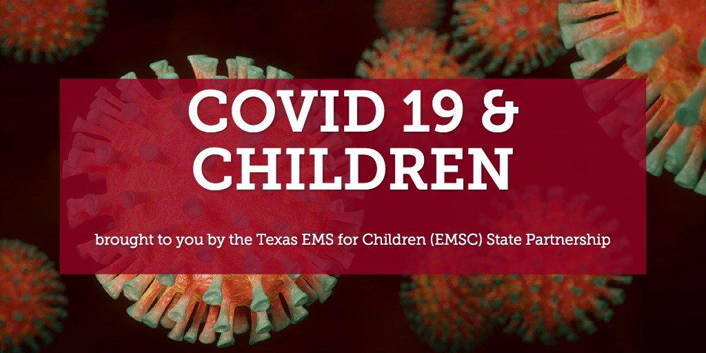 TX EMSC COVID-19 page