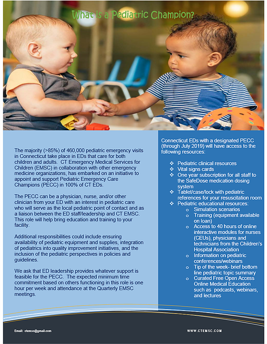 What is a Pediatric Champion? FRC CT